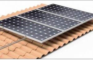 Roof Mounted Solar Frame Kits vertical