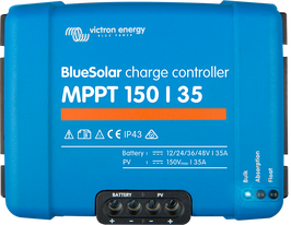 BlueSolar MPPT 150-35 up to 150-70 12-24-36-48 Volts
