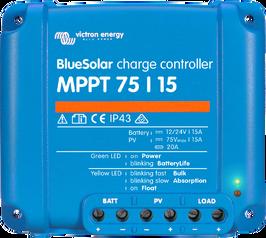 BlueSolar MPPT 75-10 75-15 100 -15 100 -20 12-24 Volts