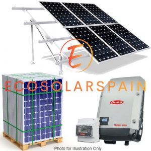 Fronius 8.2Kw & 10.0Kw On-Grid Solar Kit Ground Mount Frames