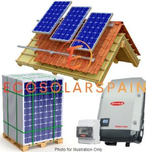 Fronius On-Grid Solar Kit Roof Mounted Panels