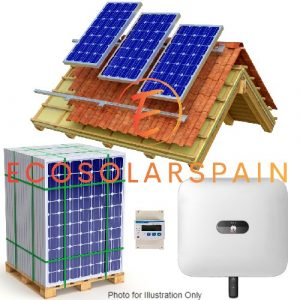 Huawei On-Grid Solar 3-Phase Kit Roof Mounted Panels