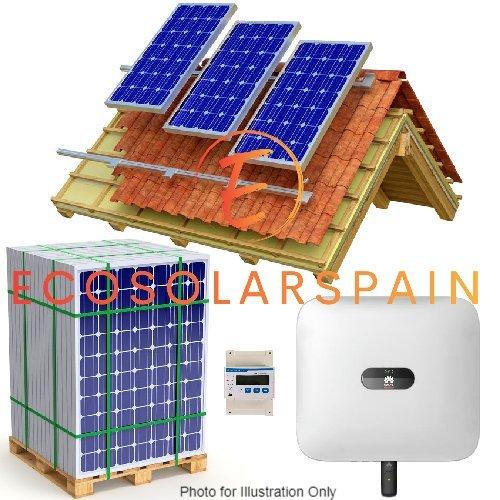 Huawei On-Grid Solar 3-Phase Kit Roof Mounted Panels
