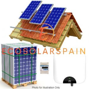 Huawei 5.0Kw Single Phase On-Grid Solar Kit