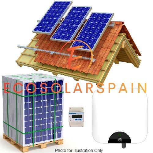 Huawei 5.0Kw Single Phase On-Grid Solar Kit
