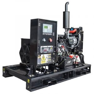 Hyundai 1500rpm Diesel Open Model Generator