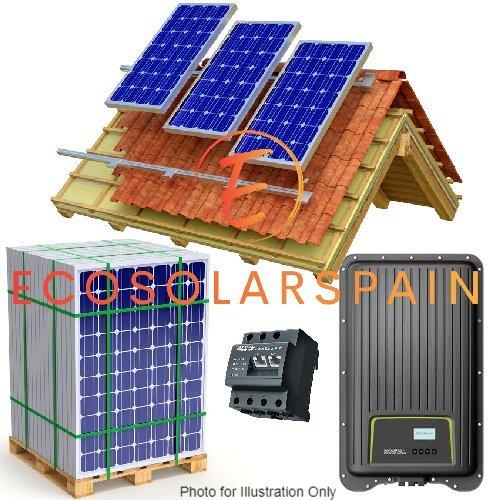 Kostal On-Grid Solar Kit Roof Mounted Panels