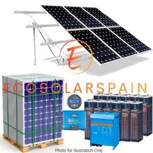 Victron Solar Kit Ground Mounted Panels