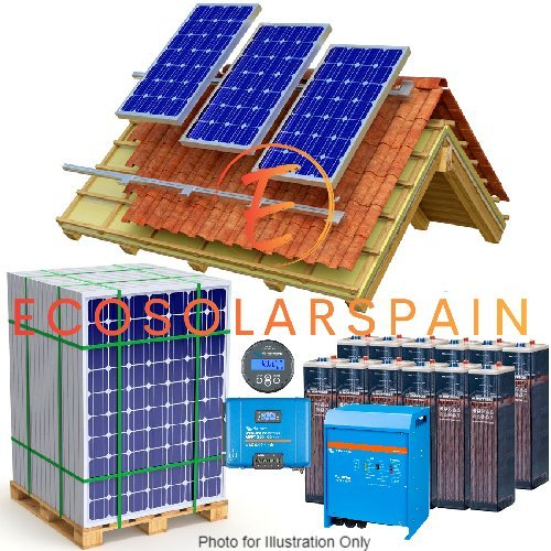 Victron Solar Kit Roof Mounted Panels