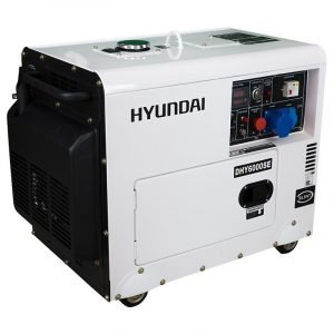 Hyundai DHY6000SE Pro Single Phase Diesel Generator (Soundproofed)